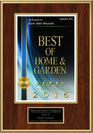 Winner of South Jersey Magazine - Best of Home and Garden