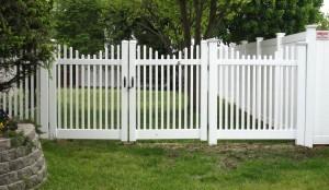 Chelsea Concave Vinyl Fence