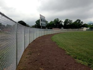 Fenced in Glassboro NJ Baseball Field