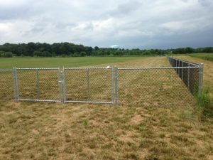 Fenched in Washington Township Soccer Field