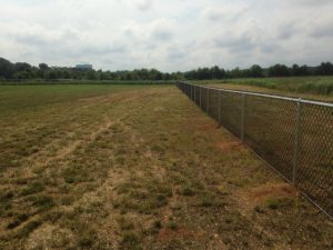 Fenced in Washington Township large Soccer Field