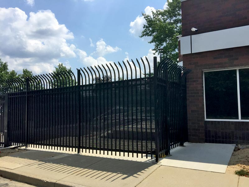 Fencing outside of the Immigration & Customs Enforcement Facility, Mt Laurel NJ