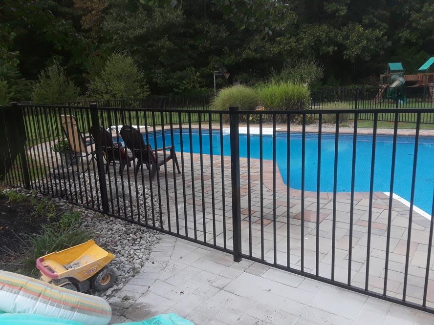 Aluminum Fence 2 rail